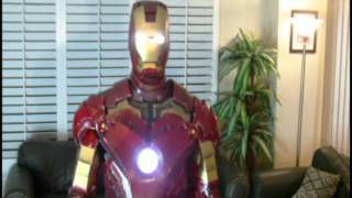 MCLEAN'S FINISHED IRON MAN SUIT