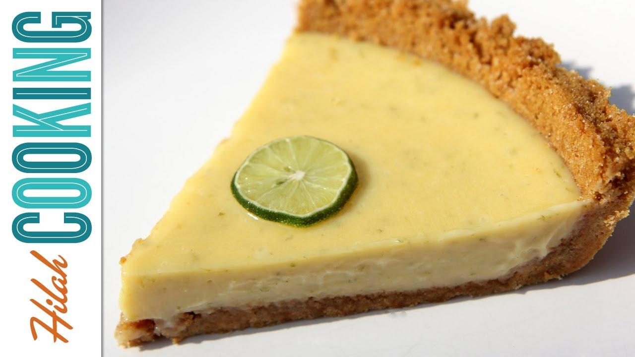 Homemade Key Lime Pie - Traditional Recipe - YouTube