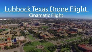 Lubbock TX TexasTech Drone flight
