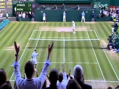 Nick Kyrgios - Rafael Nadal_Wimbledon-2014