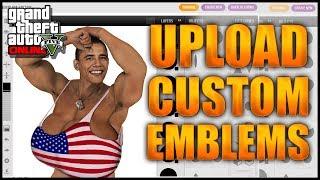 GTA 5 Online: Upload Crew Emblems To GTA Online After