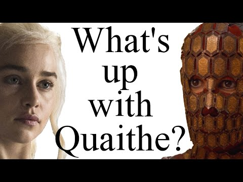 What's up with Quaithe? [ADWD spoilers]