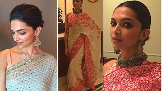 Bollywood, Deepika Padukone, Sarees, Sexiest Outfit of Woman, Bollywood Movie Updates, Entertainment Videos