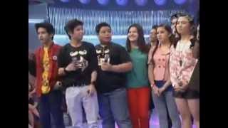 Nash Aguas Says Love You To Sharlene San Pedro (LuvU On Showtime)