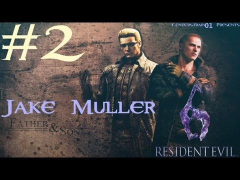 Resident Evil 6 Walkthrough - Jake Muller Part 2 - Chapter 2 - Stealthy Bastard