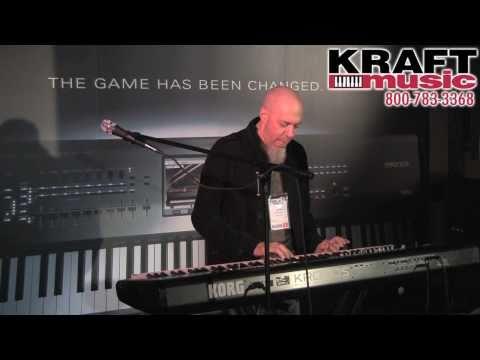 Kraft Music - Korg Kronos Demo with Jordan Rudess NAMM 2011 HIGH QUALITY!