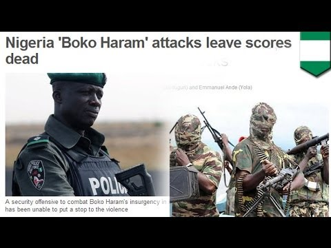 Boko Haram attacks leave 62 dead in Nigeria