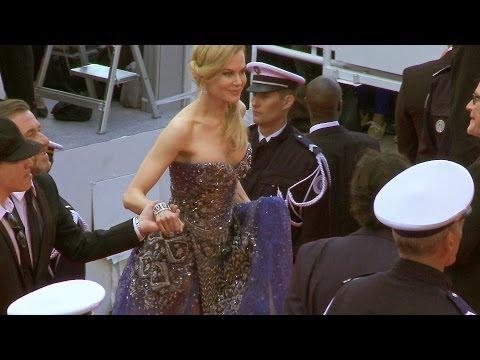 Festival de Cannes - Grace de Monaco avec Nicole Kidman