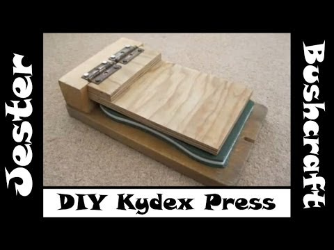 Bushcraft - DIY Kydex Press - On A Budget