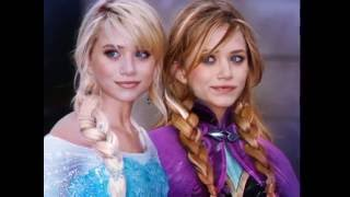 "Frozen Top 20 The Best Cosplay, Elsa And Anne Disney ""Demi"