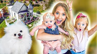 We Built Our Puppy a Giant Dog Mansion For His Birthday!!!