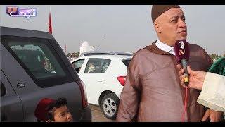 بالفيديو.. الشاف موحا و إيكو شداتهم الكاميرا في صلاة العيد بمراكش |