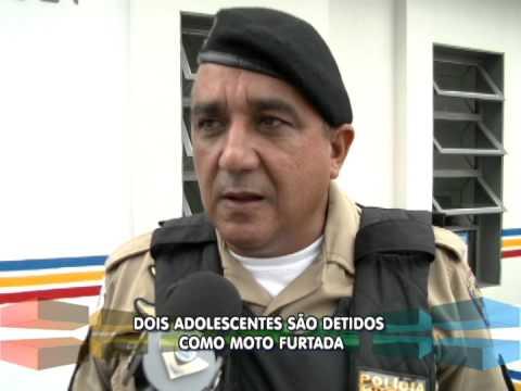 Adolescentes são detidos com moto furtada em Uberlândia