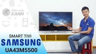 Smart Tivi Samsung UA43M5500 - Đẹp trên từng đường nét | Điện máy XANH