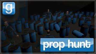 """Garry's Mod - Prop Hunt #8 """"BARRELS!!!"""" w/ KSI, Miniminter, TGL, Vikkstar, Zerkaa & Behzinga"""
