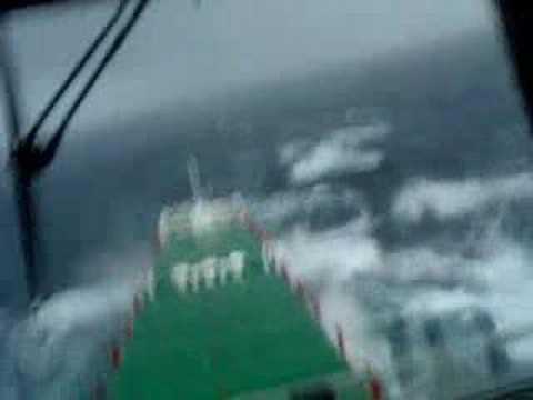 Monster waves Norwegian Sea 2