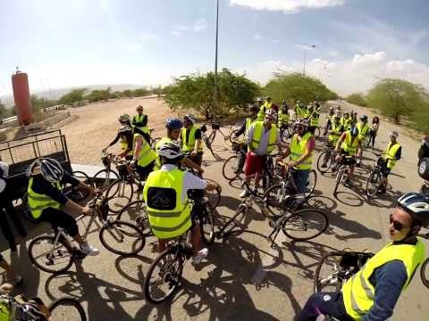 IFMSA-JO Obesity awareness campaign, Dead Sea Cycling