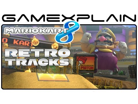 Mario Kart 8:  All 16 Retro Tracks! (Full Race)