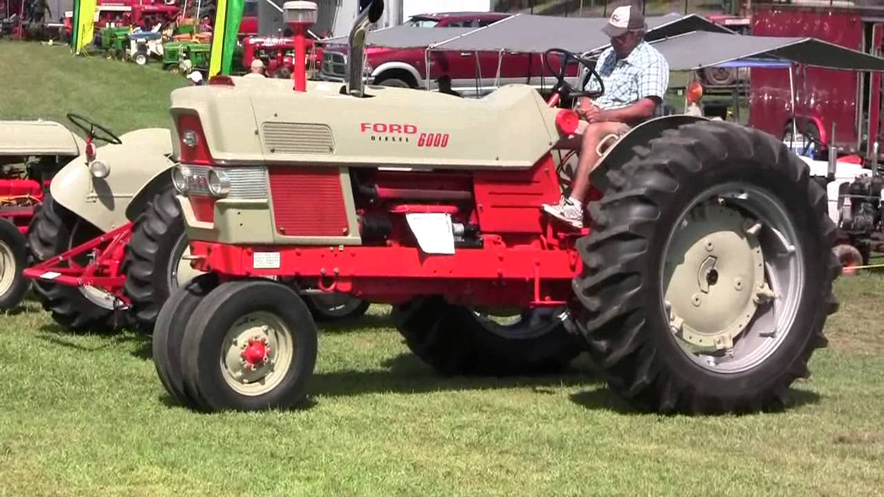 Ford 6000 Tractor Parts : Ford tractor history