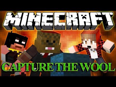 2VS1 Minecraft Capture The Wool Mod w/ BajanCanadian and xRPMx13