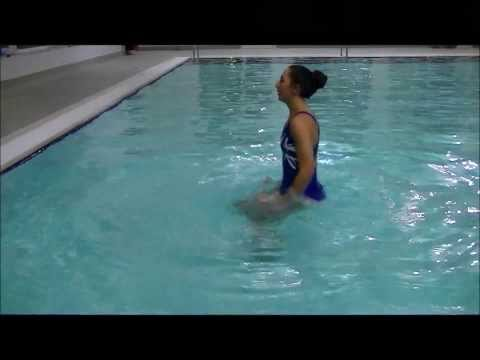 Aqua Aerobics. Tidal Wave Workout 1 (In the water)