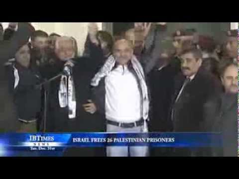 Israel Frees 26 Palestinian Prisoners