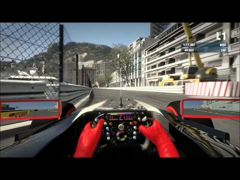 // F1 2012 Monaco Hotlap (No Assists / Dry / Gamepad)