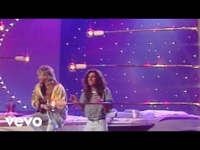 """Modern Talking - Geronimo's Cadillac (ZDF """" ... weil wir leben wollen"""" 26.10.1986)"""