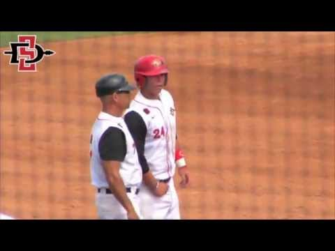 SDSU BASEBALL: AZTECS 4, FRESNO STATE 0 (MW TOURNAMENT) - 5/24/13