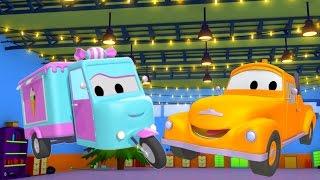 Odtahový vůz Tom a cukrárske auto