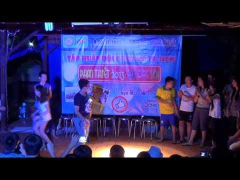 Hoạt cảnh tổ 3-CÁ CHÀ BU:Tại sao bạn đến trái đất này-tập huấn Đội CTXH ĐHBK _Phan Thiết 9/11/2013