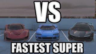Zentorno vs Turismo R vs Entity XF (GTAO High Life Update)