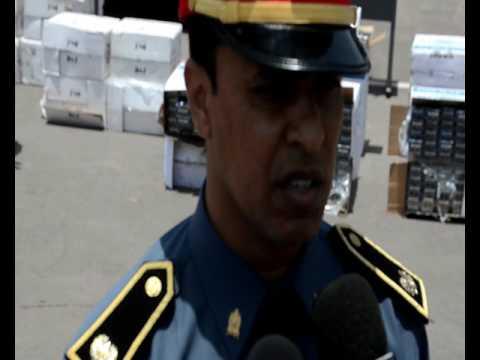 أكادير: بالفيديو … حجز اكثر من 42 ألف علبة سجائر مهربة