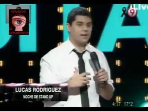 BENDITA - LUCAS RODRIGUEZ CON SU MEJOR HUMOR EN LA NOCHE DE STAND UP