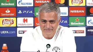 Jose Mourinho Full Pre-Match Press Conference - Juventus v Manchester United - Champions League