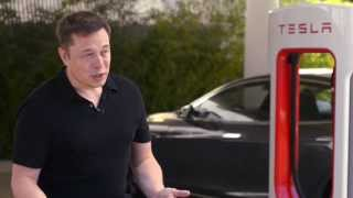 Tesla Supercharger Announcement