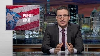 John Oliver: Puerto Rico is American, Mostly