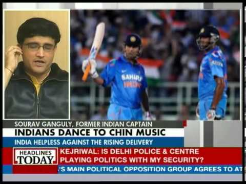 Sourav Ganguly talks about Suresh Raina