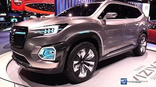 2018 Subaru Viziv-7 SUV Concept - Exterior Walkaround - 2017 Detroit Auto Show