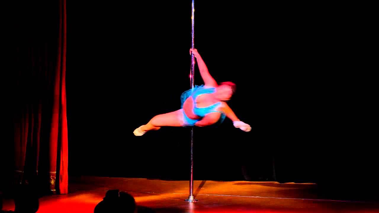 """Отчетный концерт pole dance 26.05.2013 в клубе """"Олимпия"""". Александра Гончарова"""
