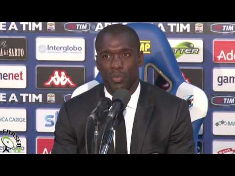 AC MILAN: Seedorf post Sampdoria