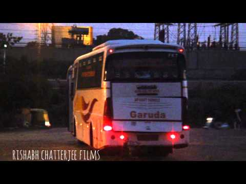 APSRTC GARUDA ISUZU BUS GOING TO HYDERABAD