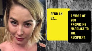 Would You Ask Your Ex To Marry You? • Social Sabotage