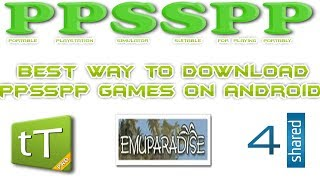 3 Ways To Download (PPSSPP) Games On Android Devices
