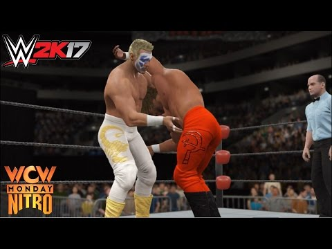 WWE 2K17 - Sting vs. Brian Pillman | WCW Monday Nitro