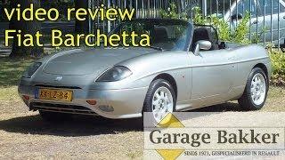 Video review Fiat Barchetta 1.8 16v, 1999, XX-LZ-84