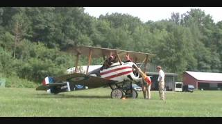 Rarest Sounds In The World At Old Rhinebeck Aerodrome