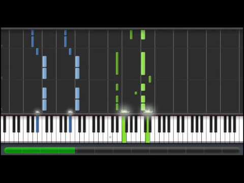 (How to Play) Power Rangers Theme on Piano (100%)