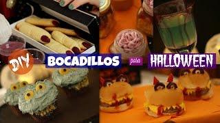 ¡Snacks de última hora para tu fiesta de Halloween!