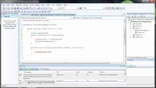 How to Transfer Information Between Forms - C# C Sharp Visual Studio 2008 view on youtube.com tube online.
